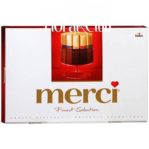 Набор шоколадных конфет Merci 400 гр