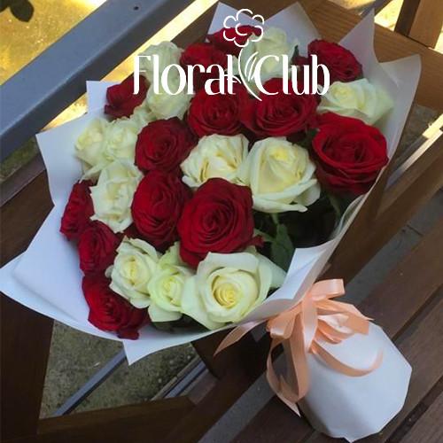 Букет 25 красных роз Original
